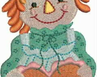 Love Those Raggedys-Machine Embroidery Designs