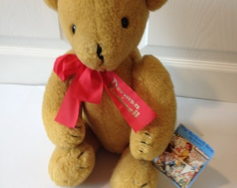 Vintage Norman Rockwell Bear By Deans