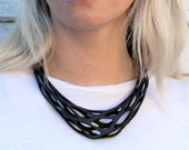 Gravity - 3d Printed Necklace - Phyllotaxia Series