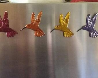 rainbow humming birds   FREE SHIPPING