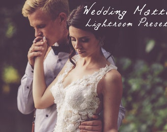 Wedding Matte Lightroom Preset Lightroom Presets for Professional Results by LouMarksPhoto