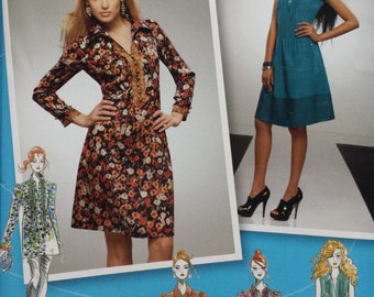 Simplicity2307 Project Runway Dress and Tunic Sewing Pattern 12-20