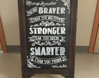 Custom Chalkboard Signs