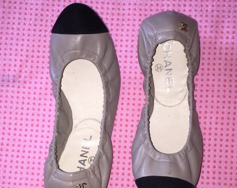 Channel Ballerina flats Size 6.5