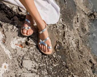 Sandals,Greek sandals,Leather sandals,Women sandals,Strap sandals,Handmade sandals,Women shoes,Triskelion,KLEIO,