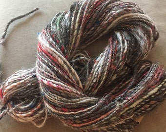 Multi Colored Handspun yarn