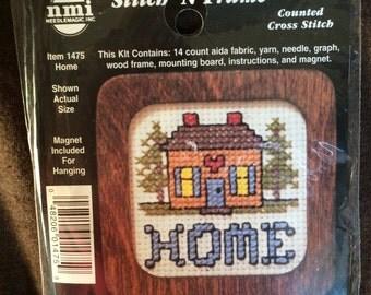 Stitch 'N Frame Home