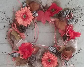 The Happy Autumn Wreath