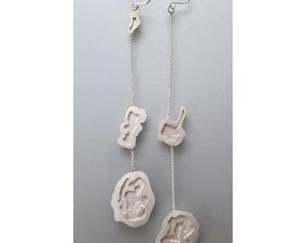 Minneapolis Lake Chain Earrings
