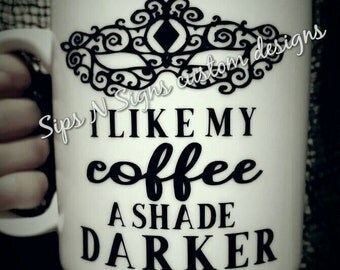 50 Shades of Grey Coffee Mug