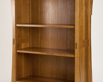 Mission Oak Bookcase