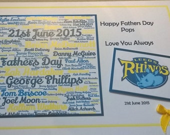 A5 Father's Day Card
