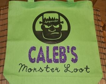 Tote - Monster Loot Trick or Treat Tote (Halloween)