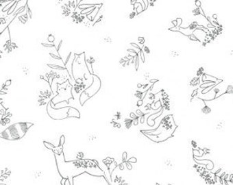 Red Bird Bedding Sets likewise Girls Baby Bedding Succulent Fitted Crib likewise Deer Head Silhouette likewise Coloriage F C3 A9e Et Lutin further 1TWD4hw. on deer crib bedding at