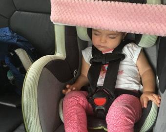 Car seat head holder