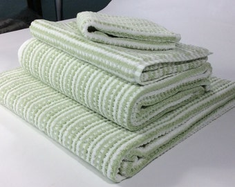 sage bath towels etsy. Black Bedroom Furniture Sets. Home Design Ideas
