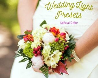 Pack of 30 Wedding Lightroom Presets Light Colors
