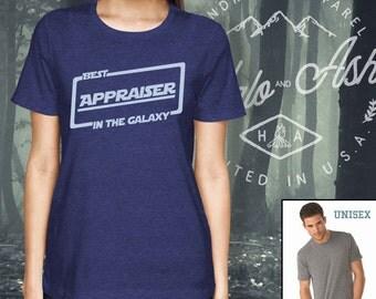 Best Appraiser In The Galaxy Shirt Gift For Appraiser Shirt