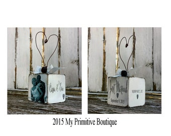 JUST MARRIED ORNAMENT | Photo Ornament | Personalized | Couples Ornament | Mr and Mrs Ornament | Newlywed Ornament | Bride & Groom Ornament