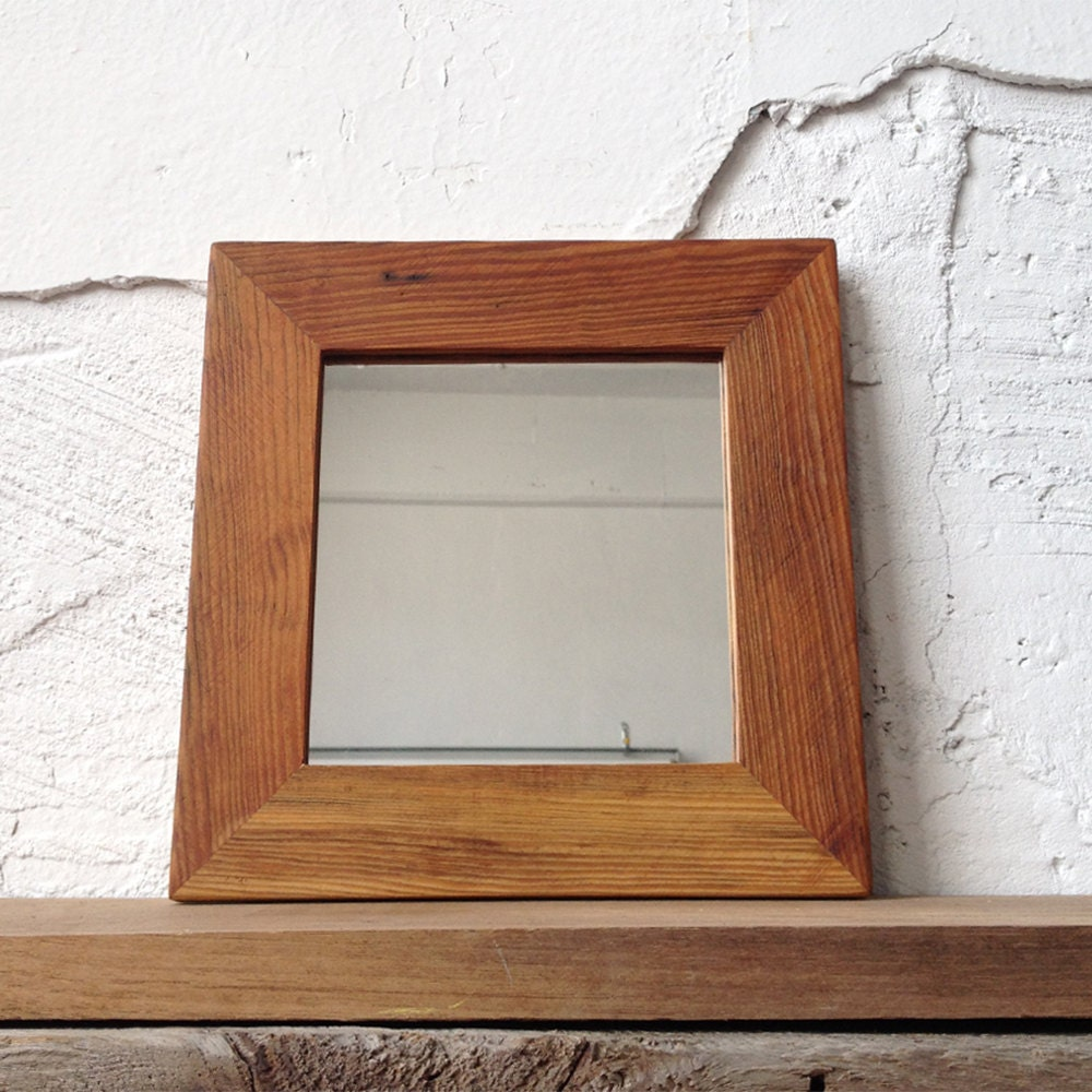 wood framed bathroom mirrors reclaimed wood mirror small square mirror bathroom mirror 21699