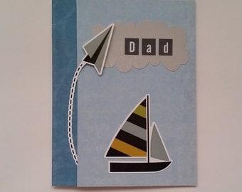 Dad Father's Day Handmade Card / Bird / #FD KITE