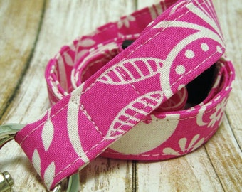 Lanyard, Badge Holder, ID Holder, Breakaway Lanyard, Fabric Lanyard, Employee Lanyard, Teacher Lanyard, PInk Tropic