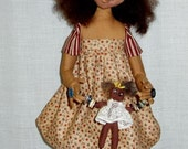 Molly and her Button Dolly e-pattern