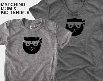 Kung Fu Watson the Cat - Matching Shirts (Women & Kid)