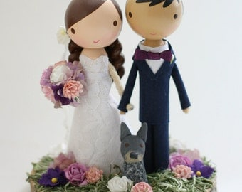 custom wedding cake topper - order for - JSHEILA
