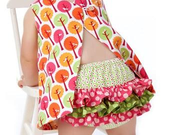 RUFFLED Diaper Cover Pattern PDF Sewing Pattern