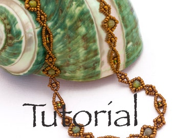 Seed Bead Tutorial Karen Necklace, Bracelet, or Anklet Chain