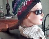 Bavarian Crochet Slouchy Hat