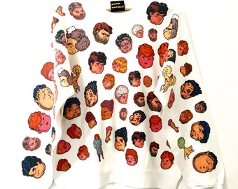 HEADS Sweatshirt by Jock Mooney