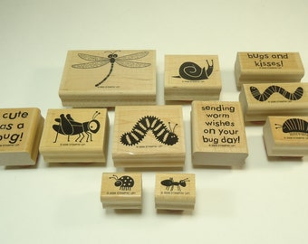 Bugs & Kisses Stamp Set From Stampin Up 106700