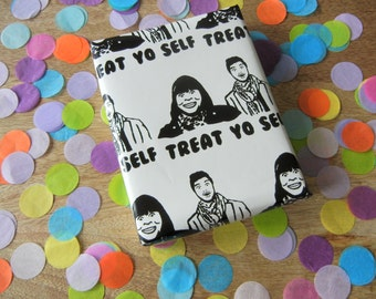 Treat Yo Self - Parks and Recreation - Gift Wrap