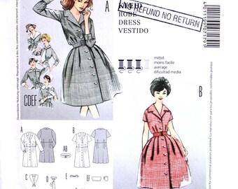UNCUT Shirtdress  Sizes 6-18 Burda 7179