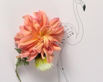 pink flamingo no. 1