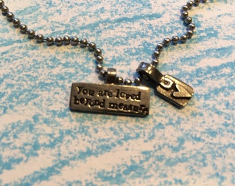 Loved beyond measure necklace