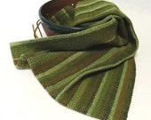 Handwoven Cotton/Linen Towel for Kitchen & Bath - Green Towel -  Forest, Handtowel, Kitchen Towel, Handwoven Towel, Tea Towel #16-08 Sage