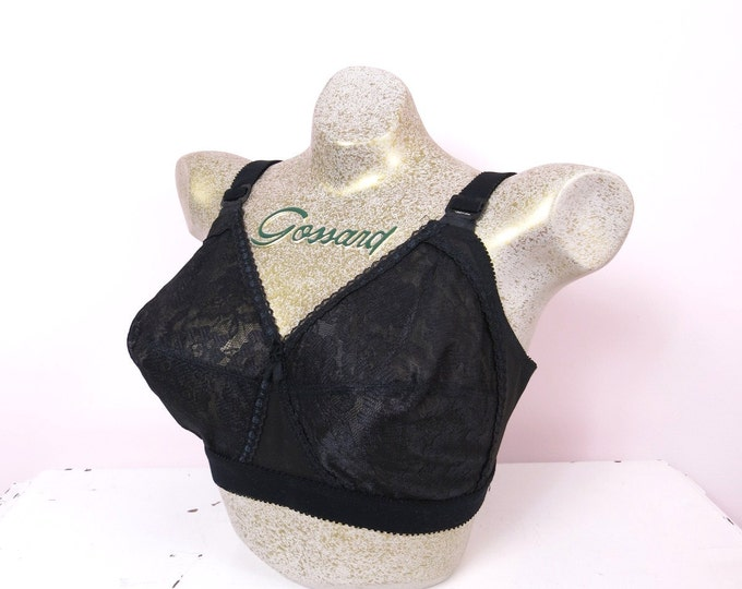 "1970s Playtex ""No Visible Means"" Bra 36D Deadstock"