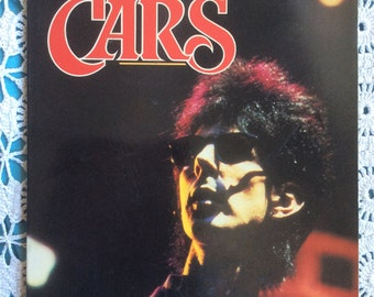 The Cars illustrated fan book, 1986; rock and roll!