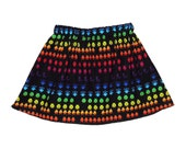 Arcade Games - Space Baby - Invaders  - Retro - Skirt - Girls Skirt - Toddler Skirt - Baby Skirt - 3m  6m 12m 18m 2t 3t 4t 5t 6 7 8