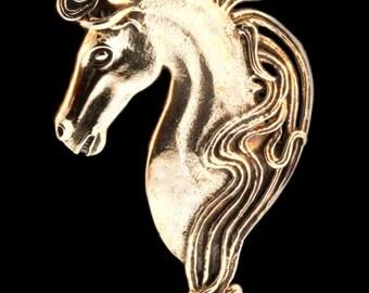 Horse Necklace Bronze Horse Pendant Horse Jewelry Spirit Horse Pendant Animal Jewelry Animal Necklace Cowgirl Pony Necklace Horse Lover Gift