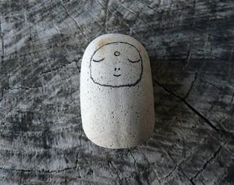 Beach Pottery Jizo Bodhisattva