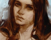 Lament - Original Oil Painting
