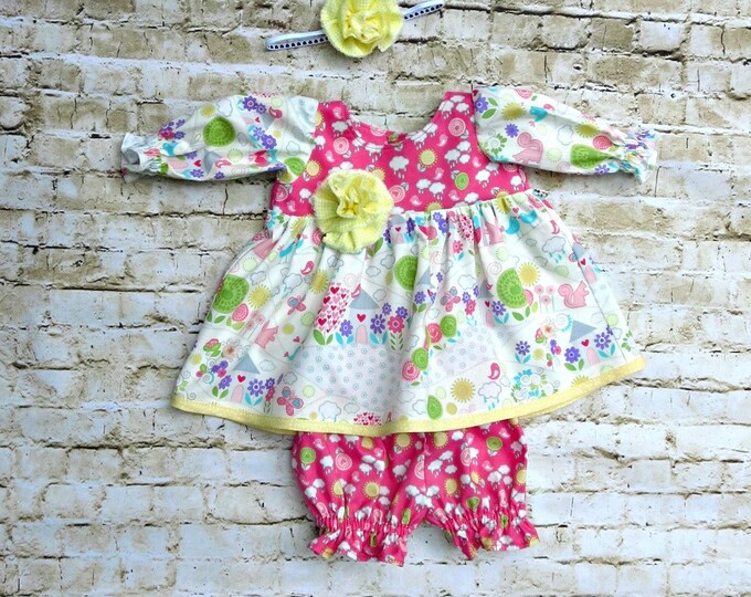 Baby Girl Dress - First Birthday Girl - Baby Outfit - Newborn Outfit - Baby Shower Gift - Reborn Doll - Baby Clothes - newborn to 24 months