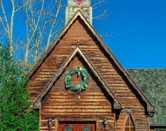 Tennessee Mountain Wedding Chapel 2 Fine Art Print - Travel, Scenic, Landscape, Rural, Nature, Home Decor, Zen