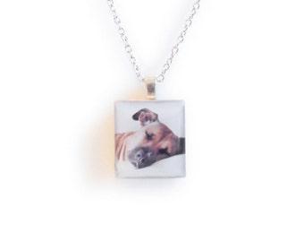 Custom Instagram Photo Necklace - Pet Memorial Necklace - Puppies of Instagram - Photo Necklace - Custom Photo Jewelry - Dog Photo Necklace