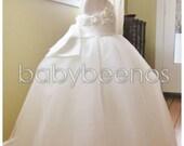 Ivory Tulle Flower girl dress, First Communion dress, ballgown - CHANTAL - Girls Dress, Ivory Flower girl dress, flower girl dresses