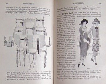 Care of Clothing 1926 Woman's Institute Library of Dressmaking vintage book 20s costume fashion upcycling housekeeping laundry domesticity